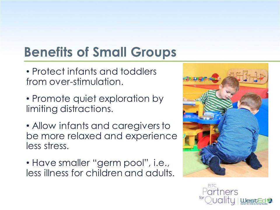 Benefits of Small Groups