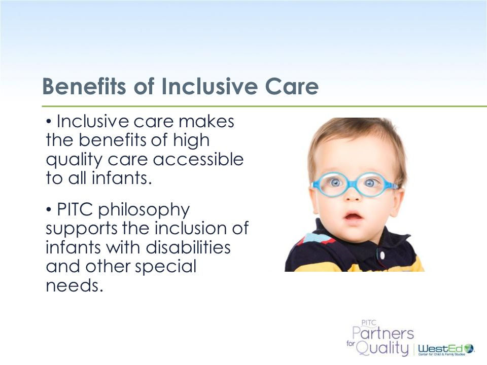 Benefits of Inclusive Care