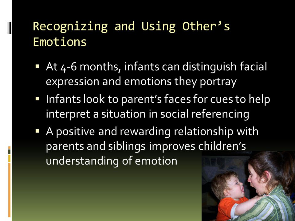 Recognizing and Using Other's Emotions