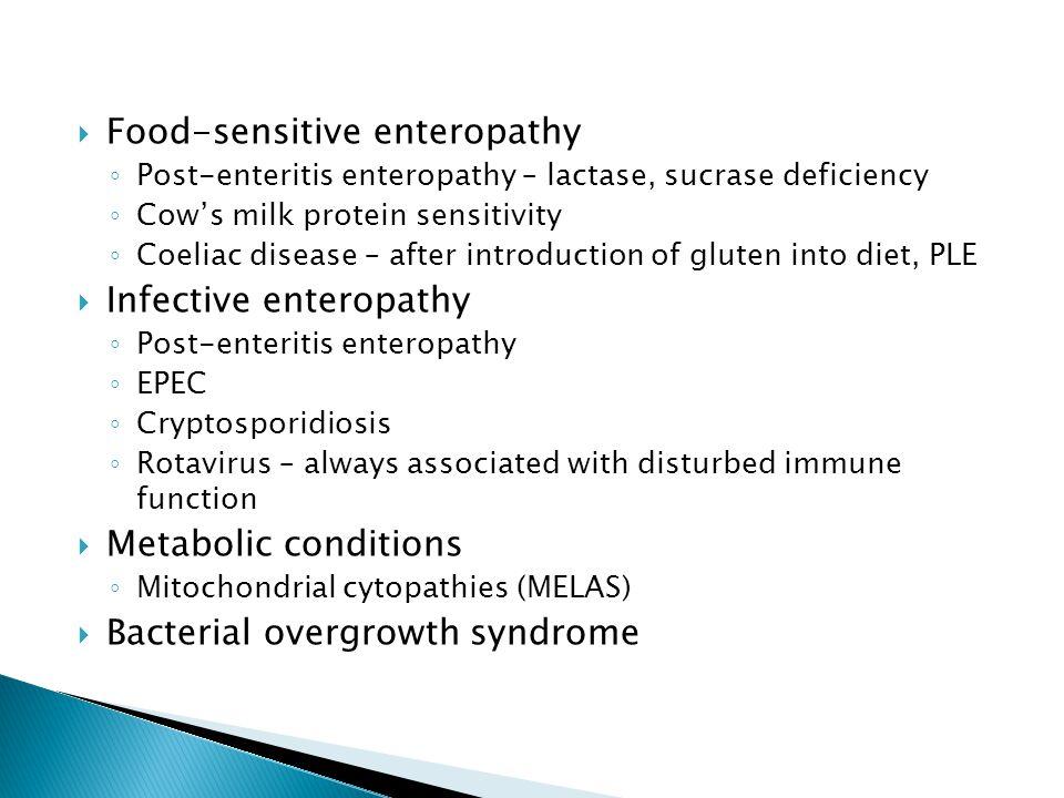 Food-sensitive enteropathy