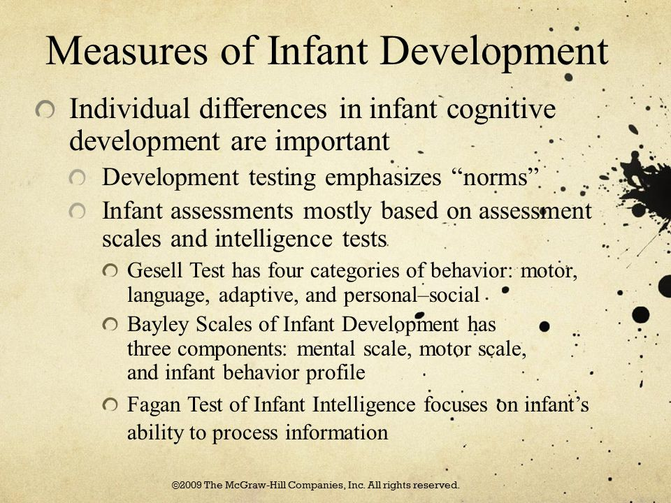 Measures of Infant Development