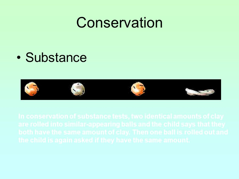 Conservation Substance