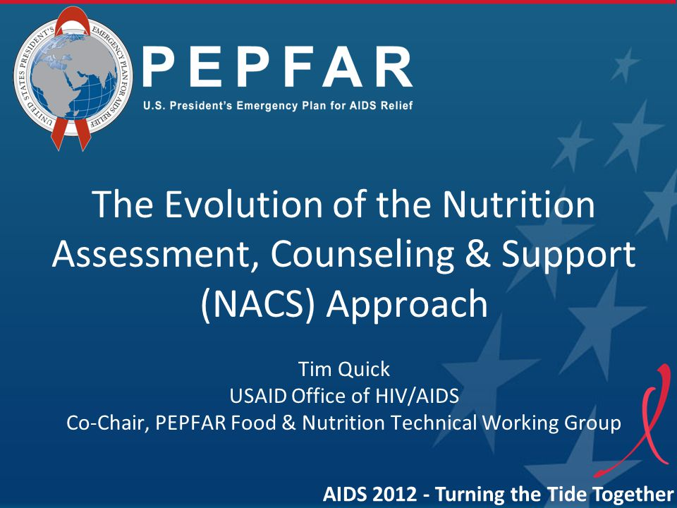 The Evolution of the Nutrition Assessment, Counseling & Support (NACS) Approach