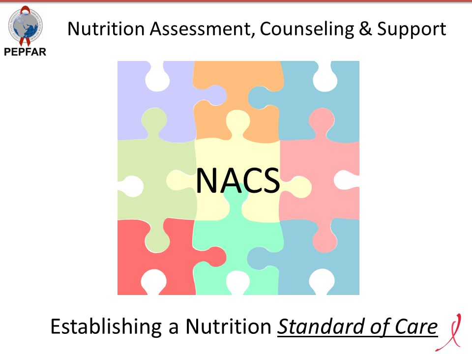 NACS Establishing a Nutrition Standard of Care