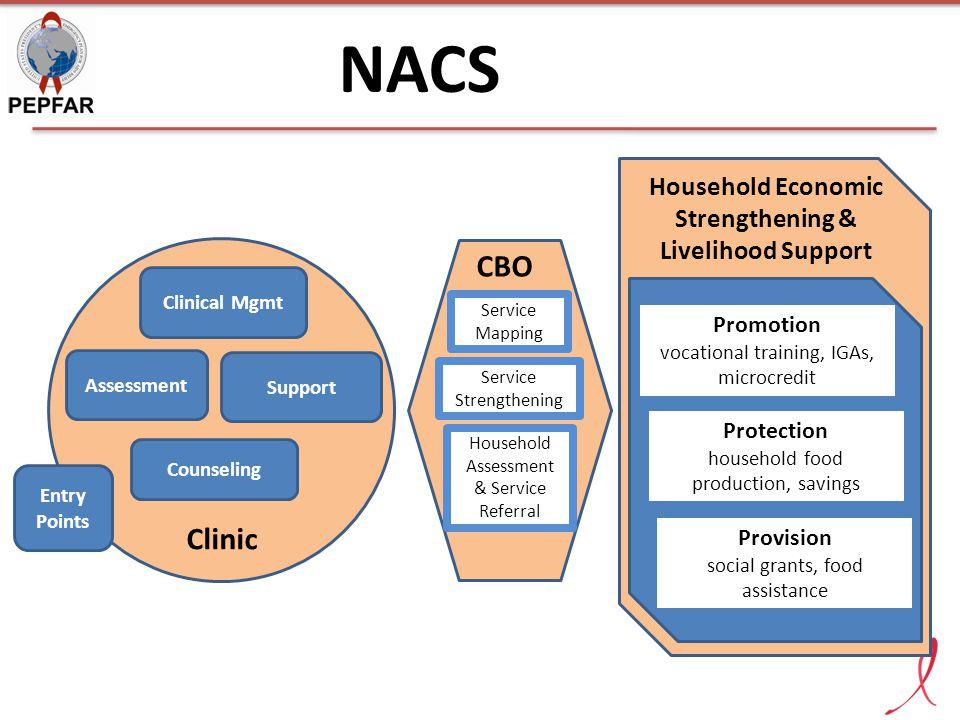 Household Economic Strengthening & Livelihood Support