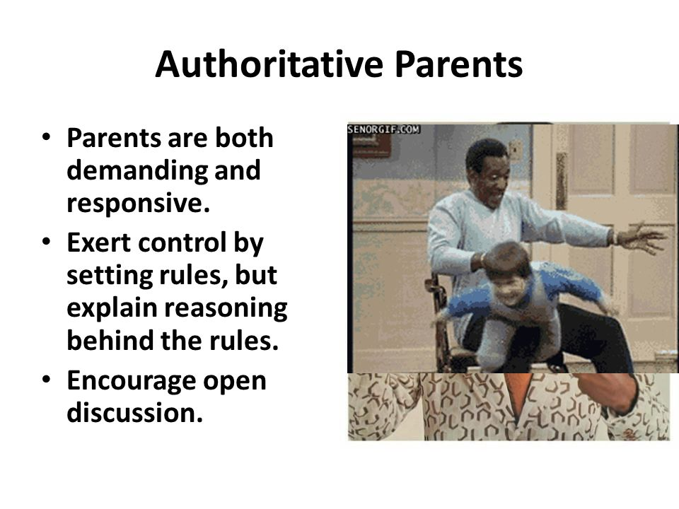 Authoritative Parents