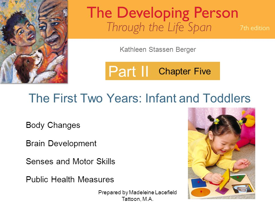The First Two Years: Infant and Toddlers