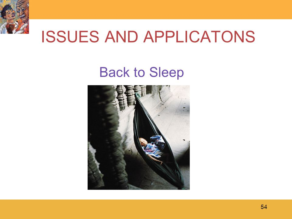ISSUES AND APPLICATONS