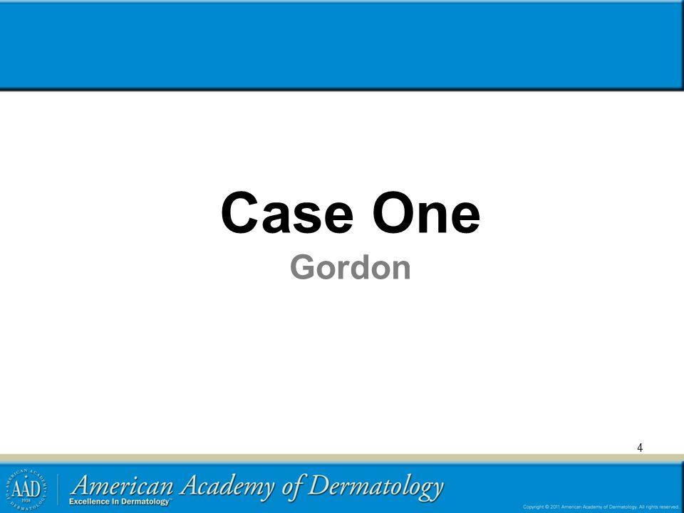Case One Gordon Transient benign rash with differential