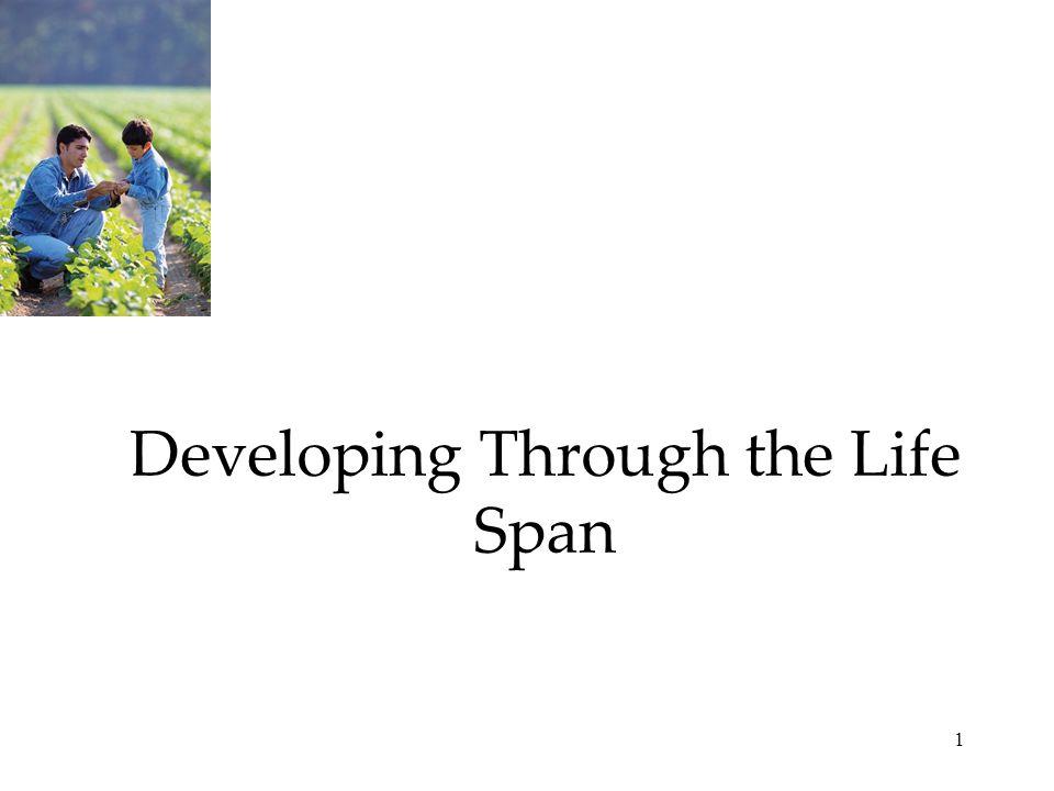 Developing Through the Life Span