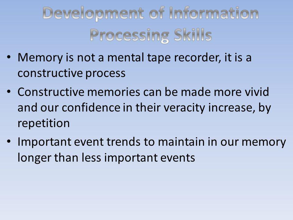 Development of Information