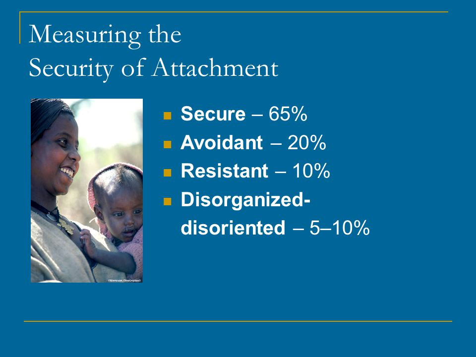 Measuring the Security of Attachment