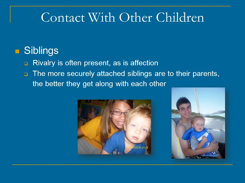 Contact With Other Children