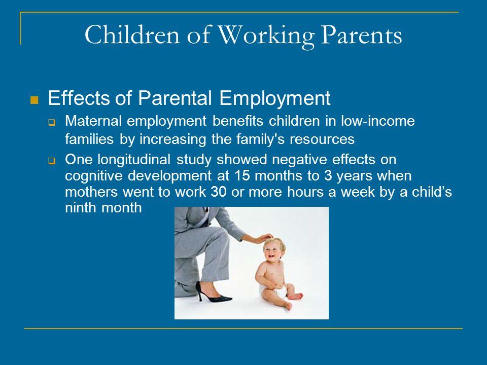 Children of Working Parents