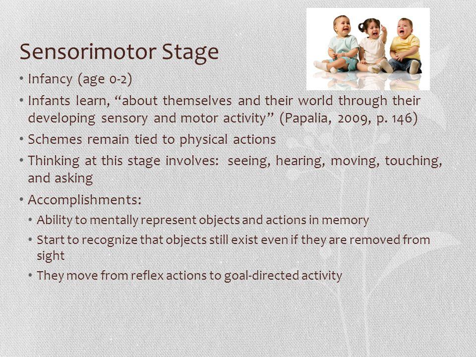 Sensorimotor Stage Infancy (age 0-2)