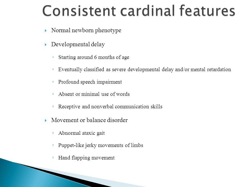 Consistent cardinal features