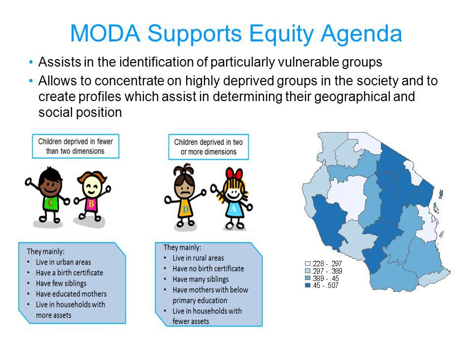 MODA Supports Equity Agenda