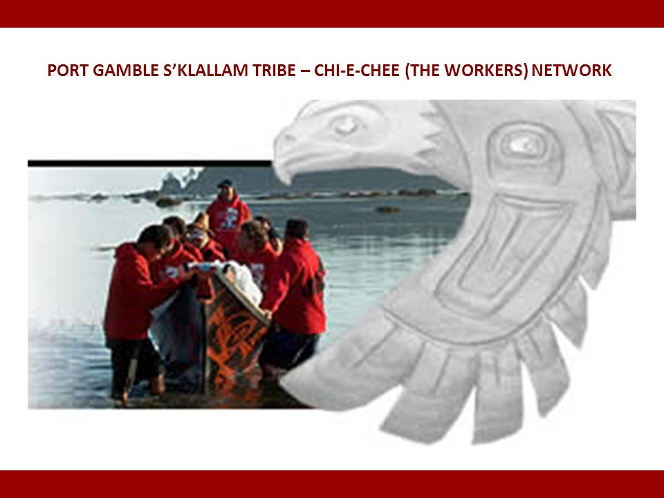 Port Gamble S'Klallam Tribe – Chi-e-Chee (The Workers) Network