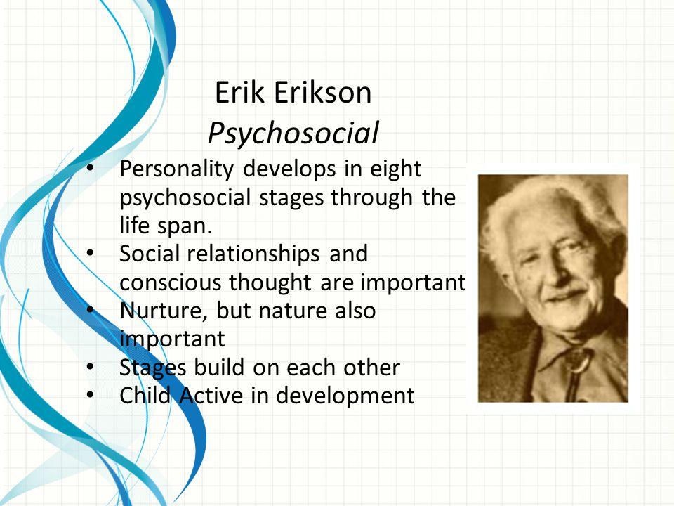 Erik Erikson Psychosocial