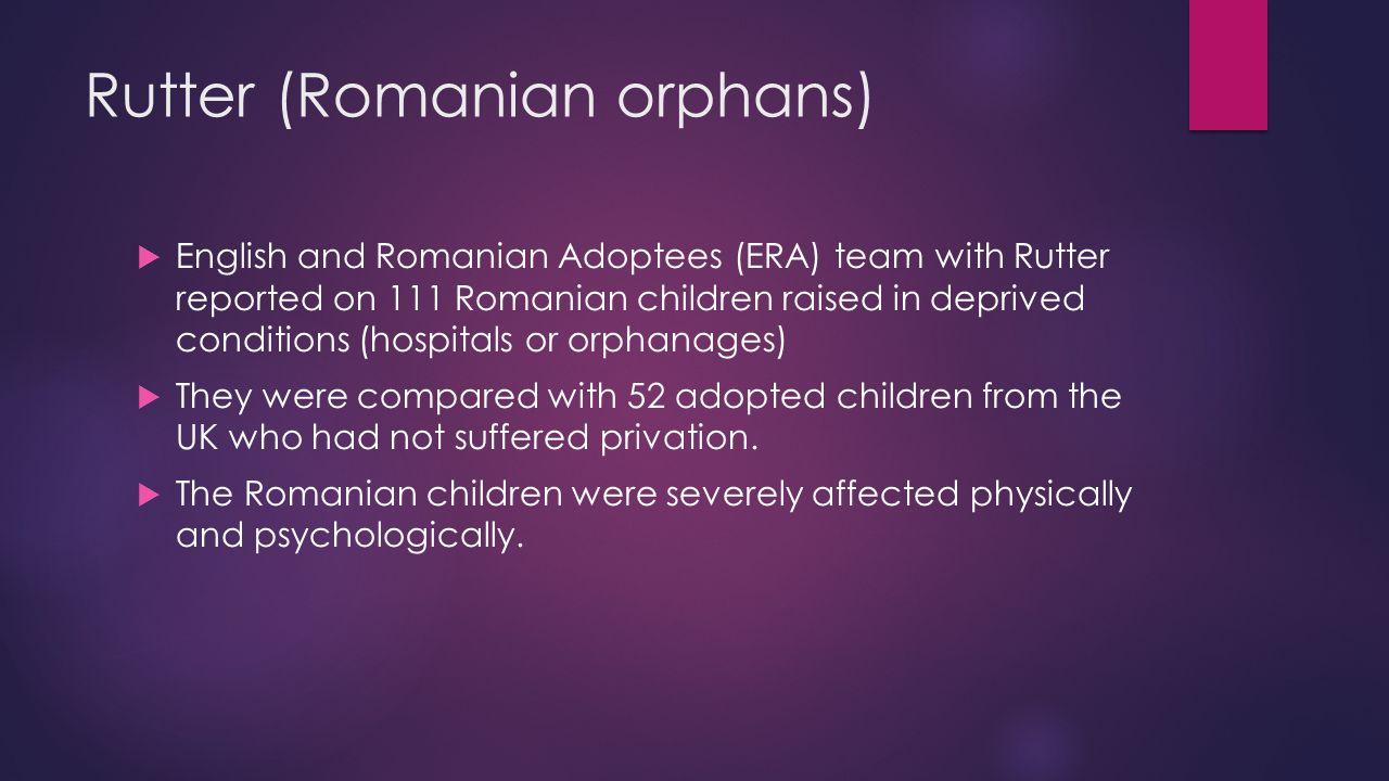 Rutter (Romanian orphans)