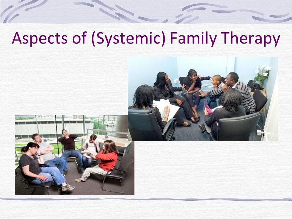 Aspects of (Systemic) Family Therapy