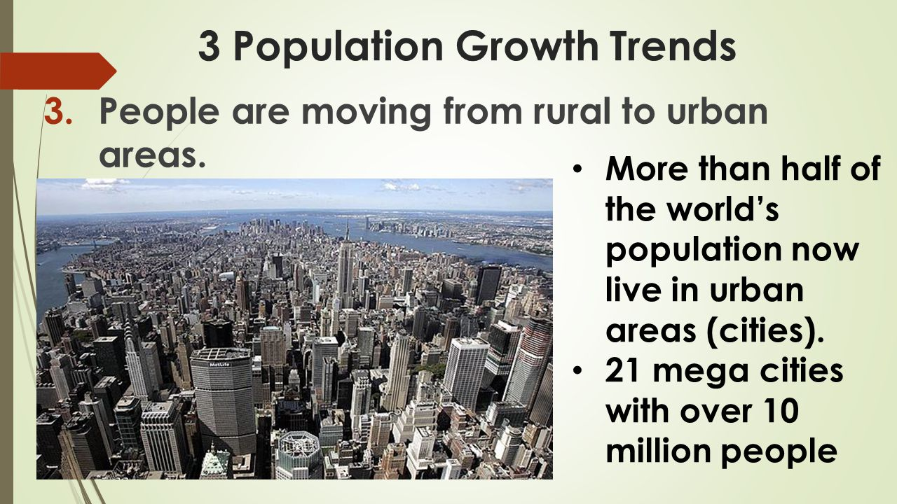 3 Population Growth Trends