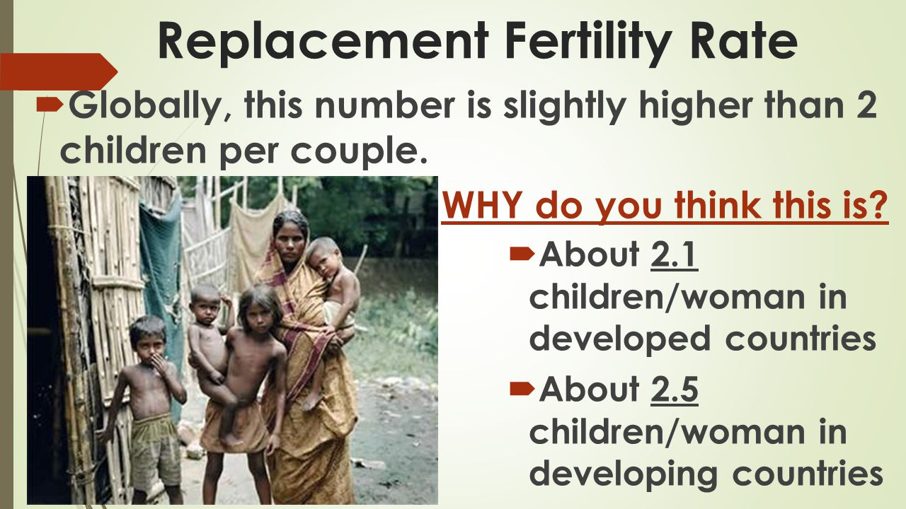 Replacement Fertility Rate