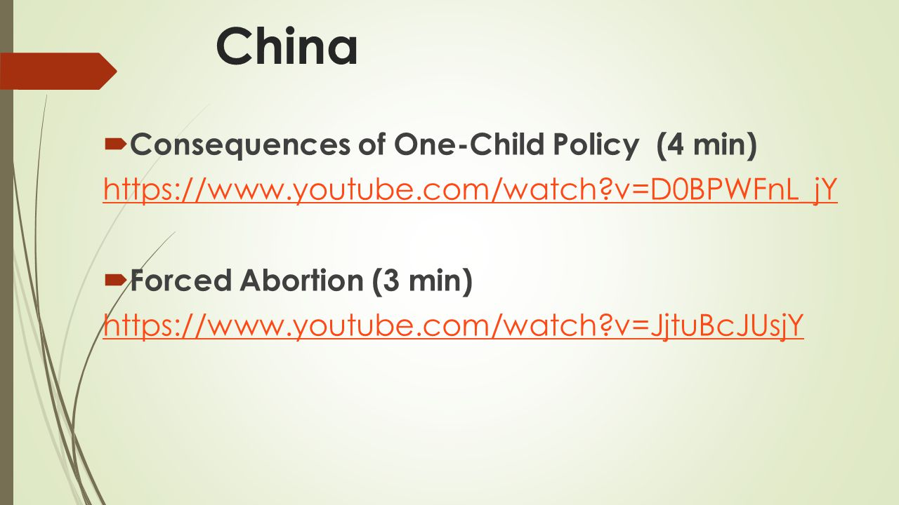 China Consequences of One-Child Policy (4 min)