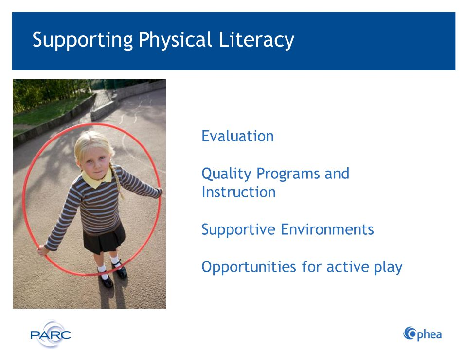 Supporting Physical Literacy
