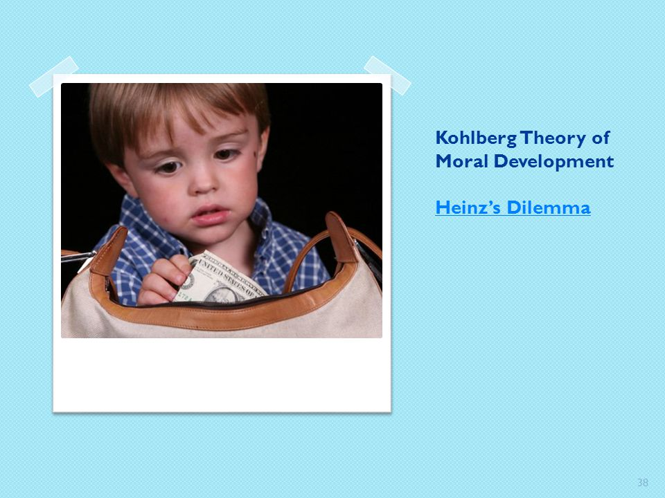 Kohlberg Theory of Moral Development Heinz's Dilemma
