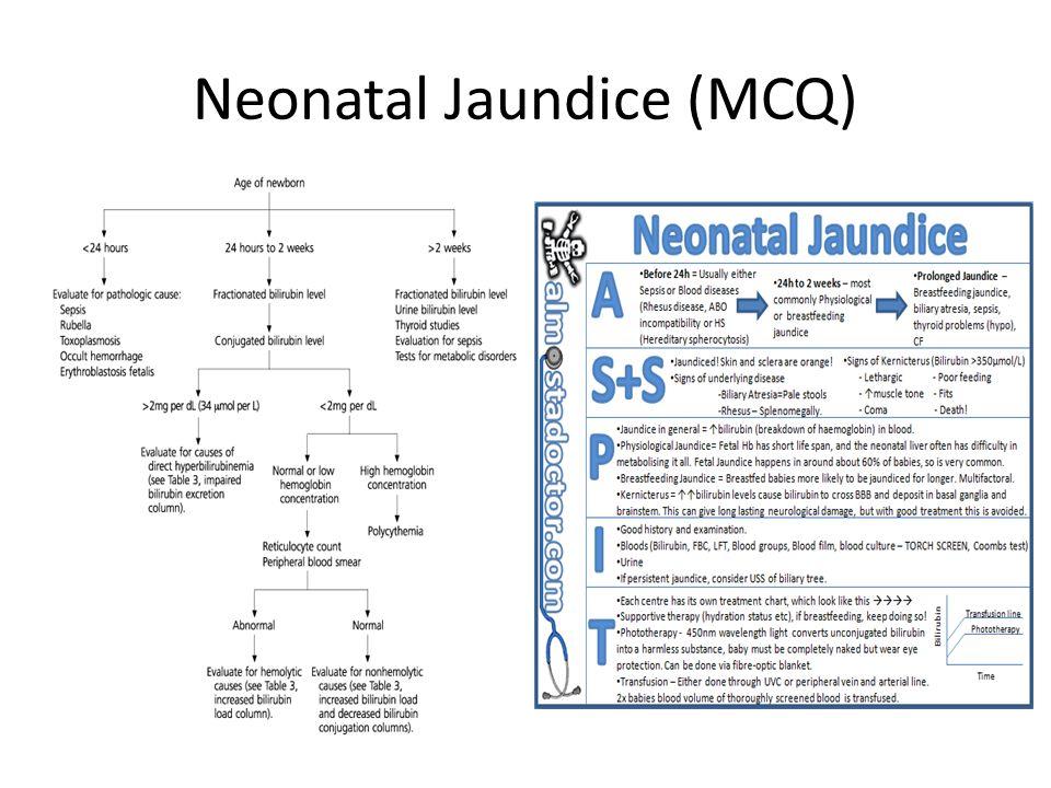 Neonatal Jaundice (MCQ)