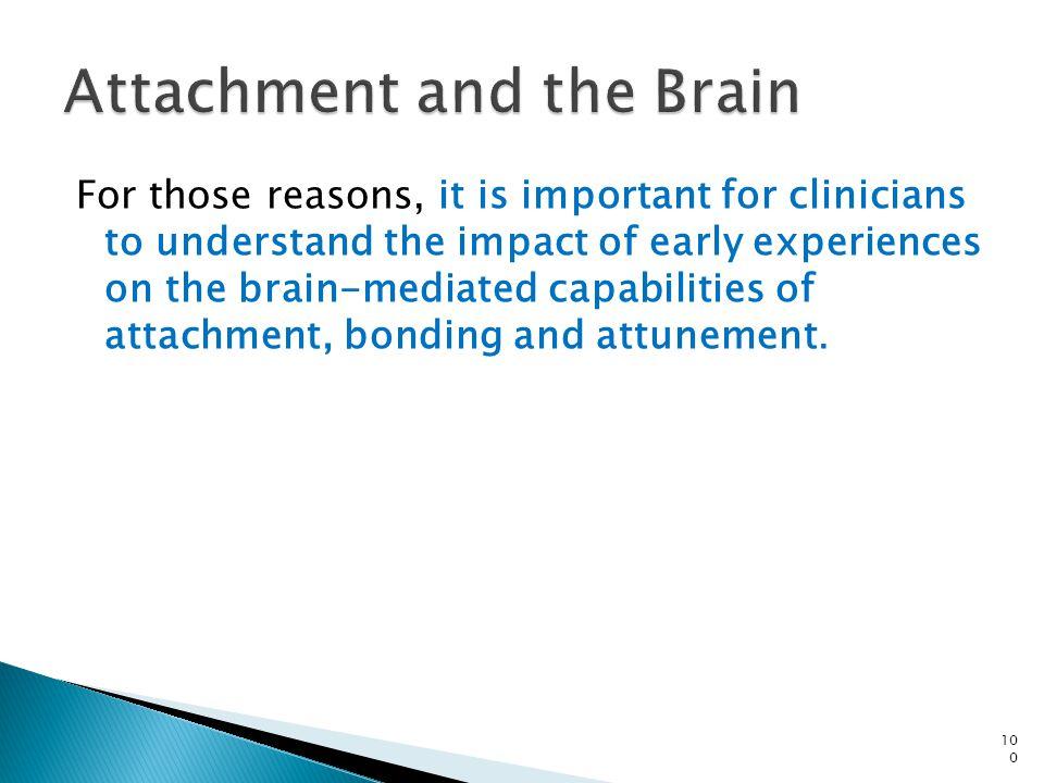 Attachment and the Brain