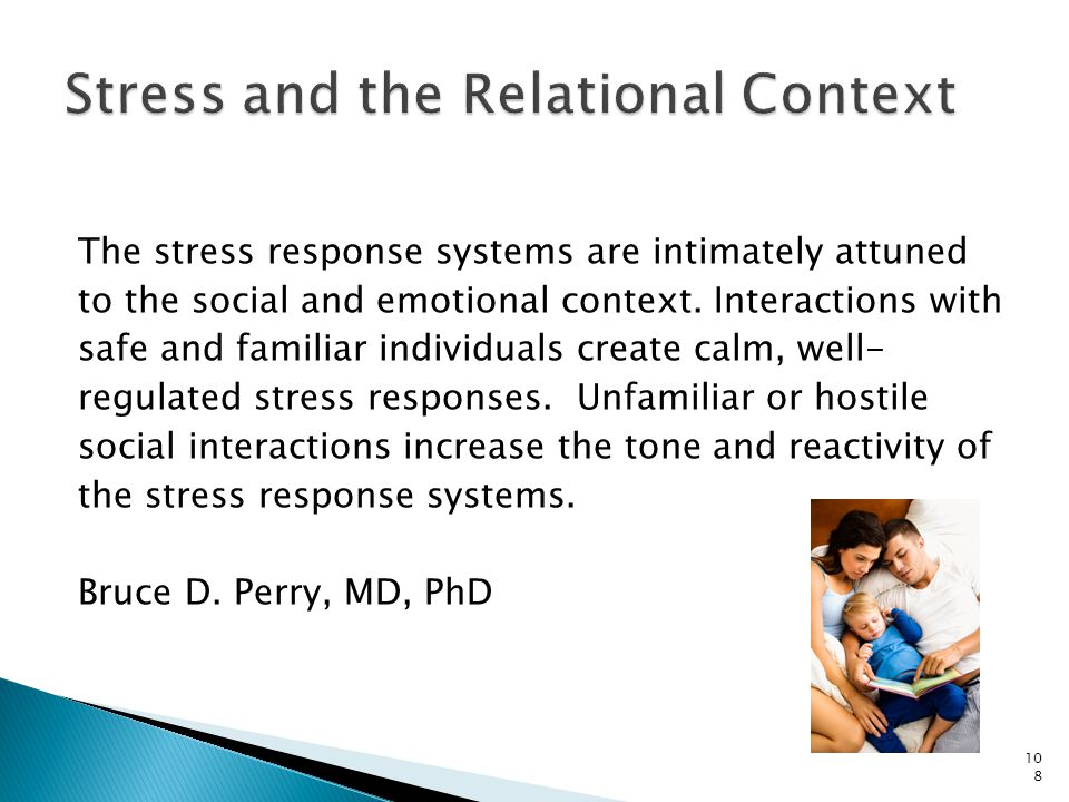 Stress and the Relational Context