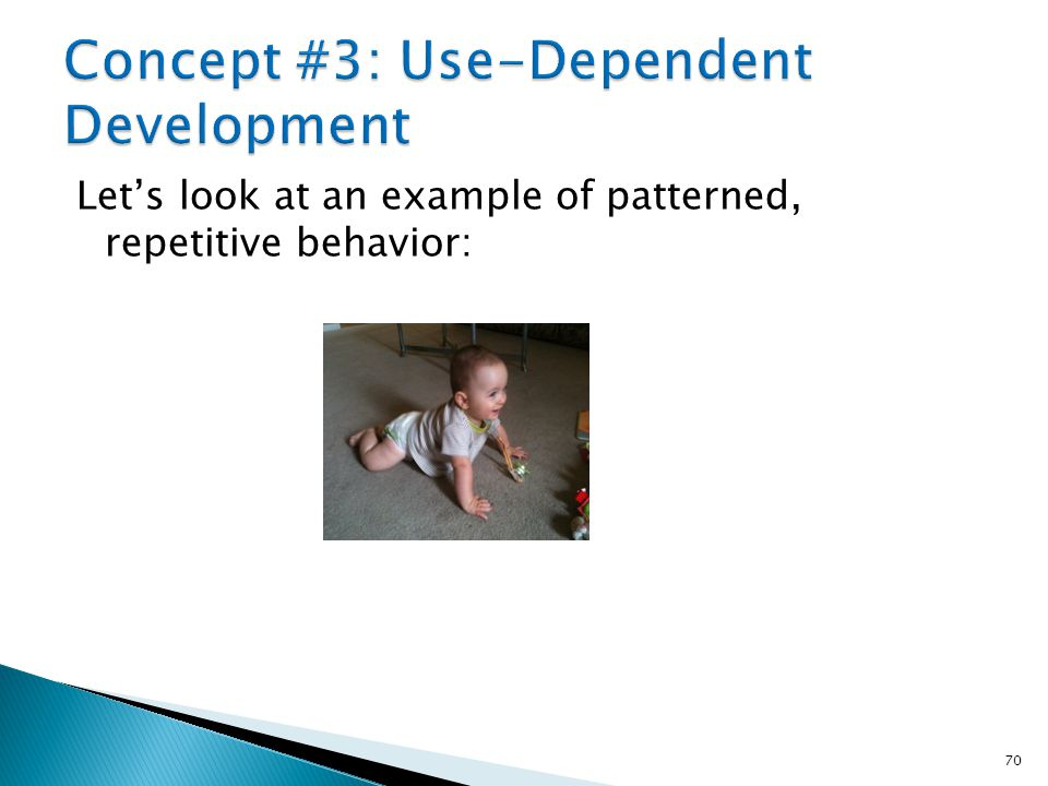 Concept #3: Use-Dependent Development