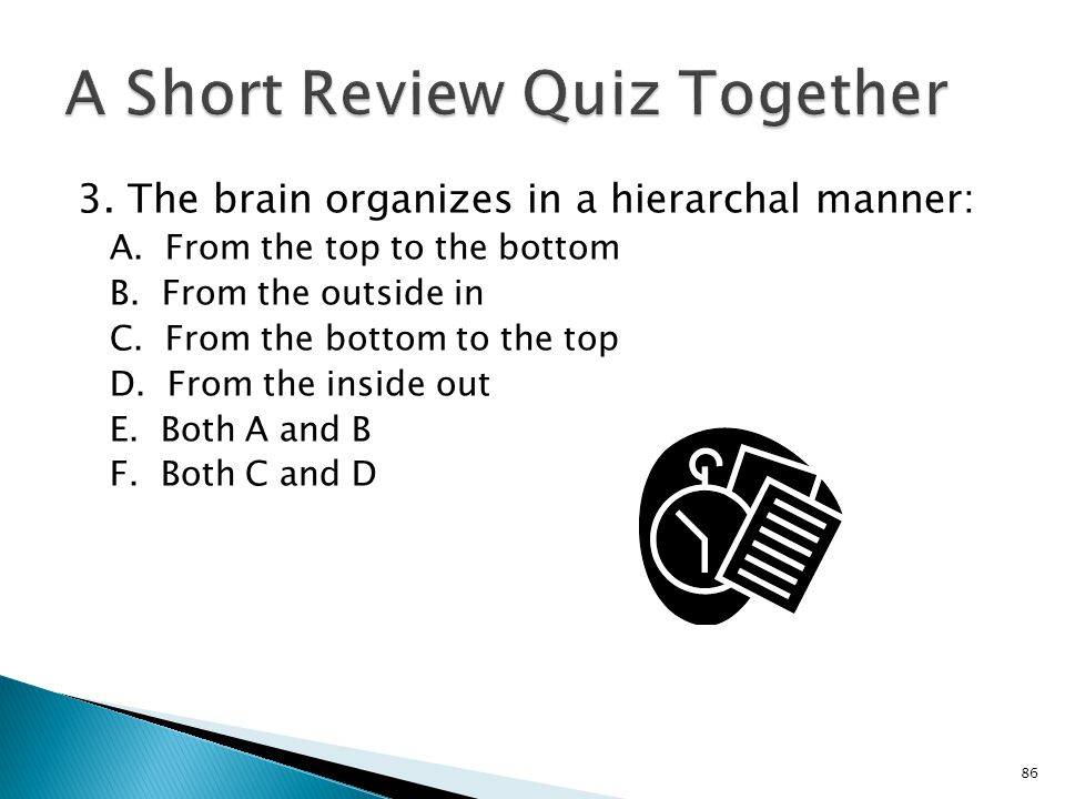 A Short Review Quiz Together