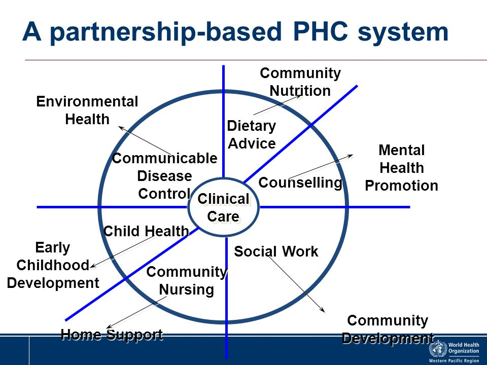 A partnership-based PHC system