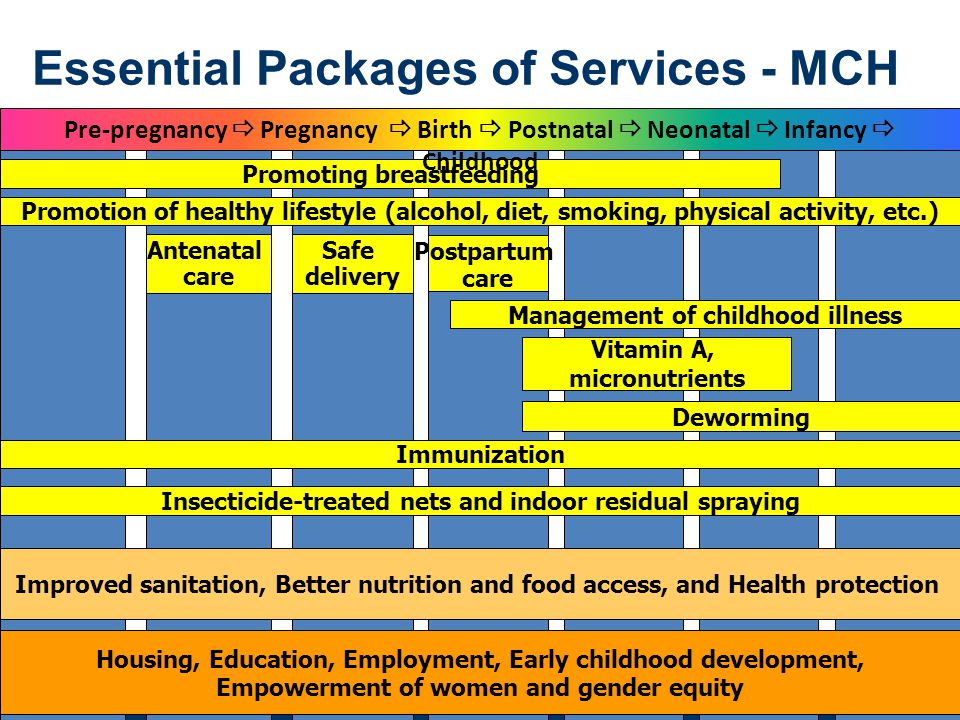 Essential Packages of Services - MCH
