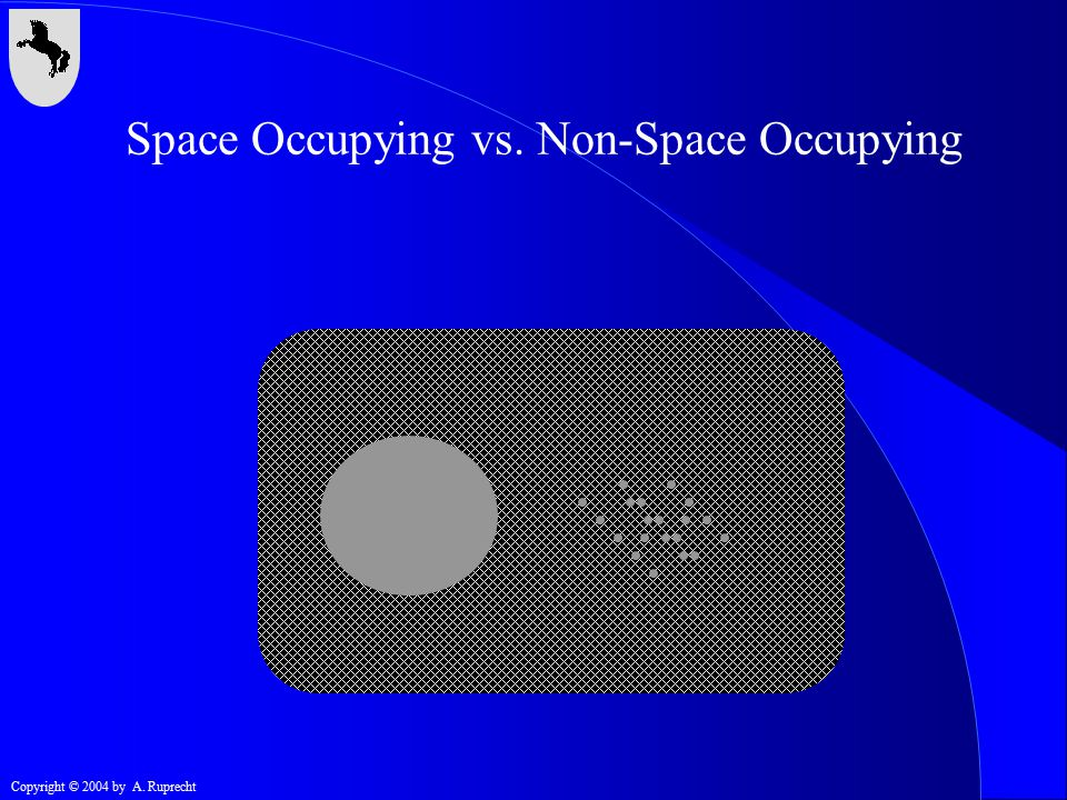 Space Occupying vs. Non-Space Occupying