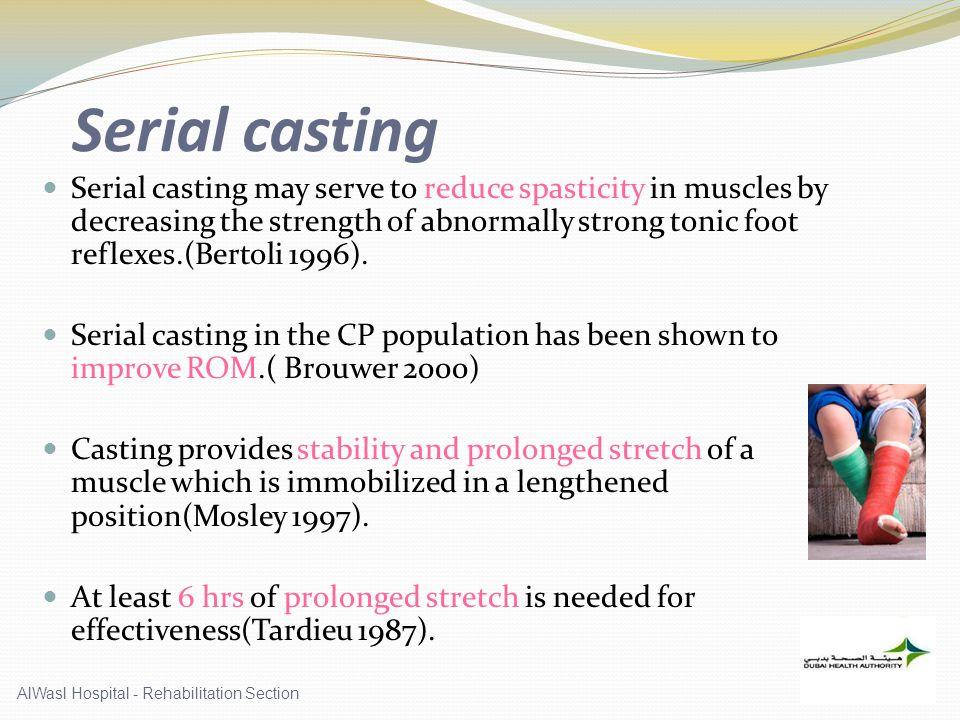 Serial casting