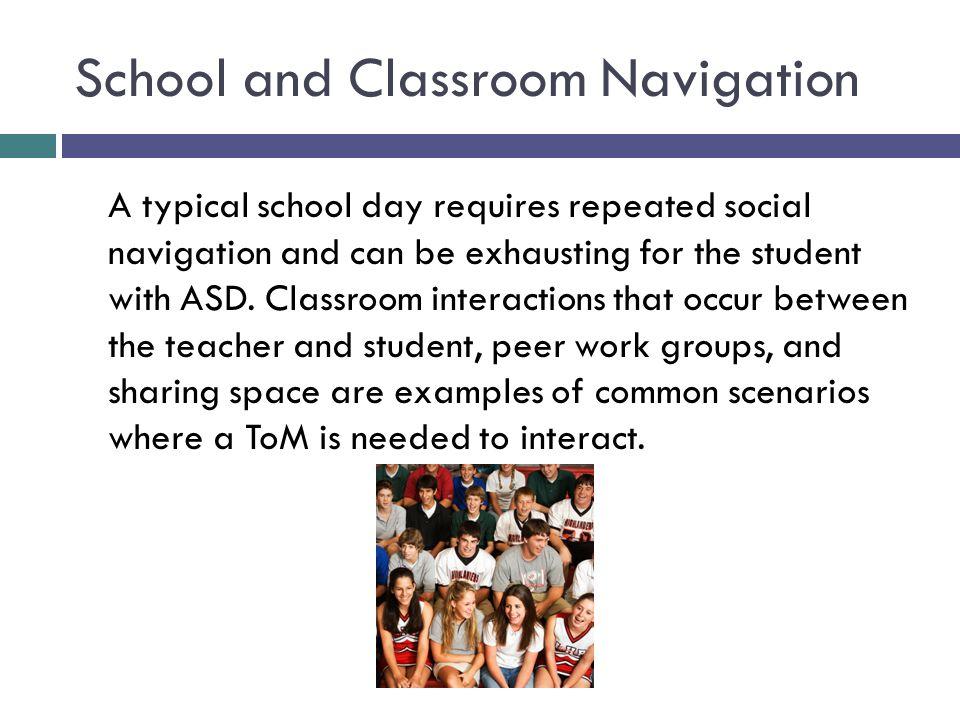 School and Classroom Navigation