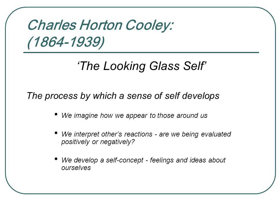 Charles Horton Cooley: (1864-1939)