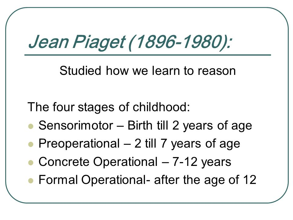 Jean Piaget Quote Are We Forming Children Who Are Only: Socialization Chapter 3 Henslin's Sociology: A Down To