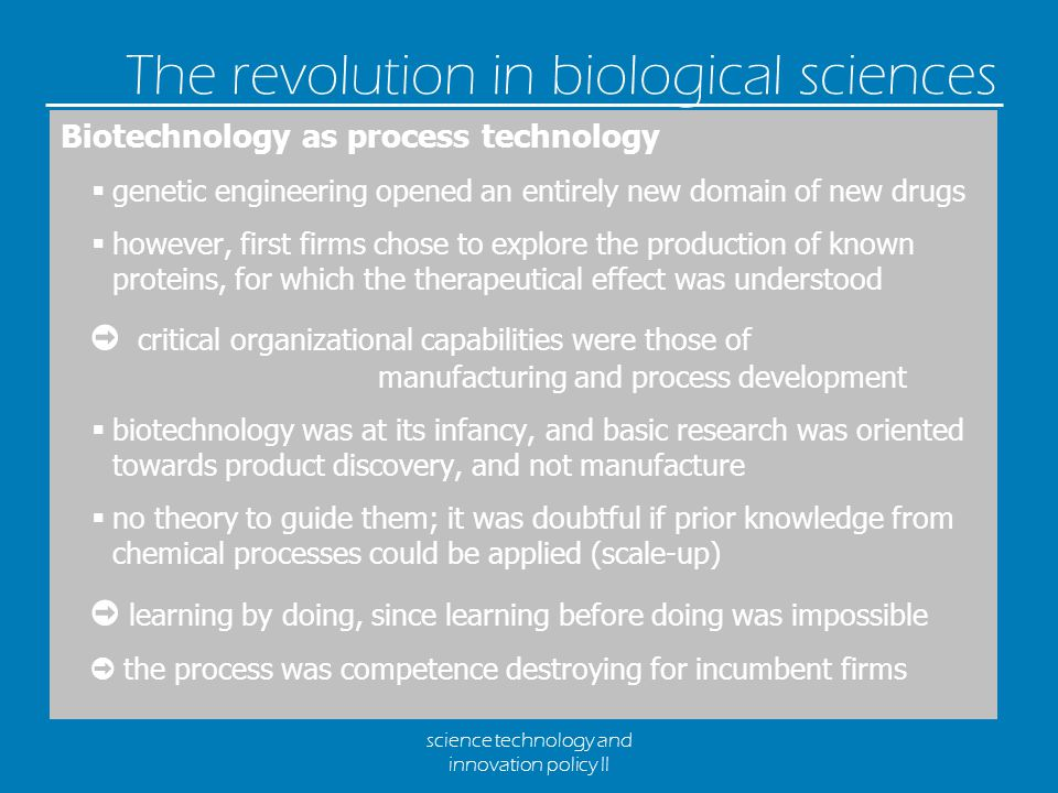 science technology and innovation policy II