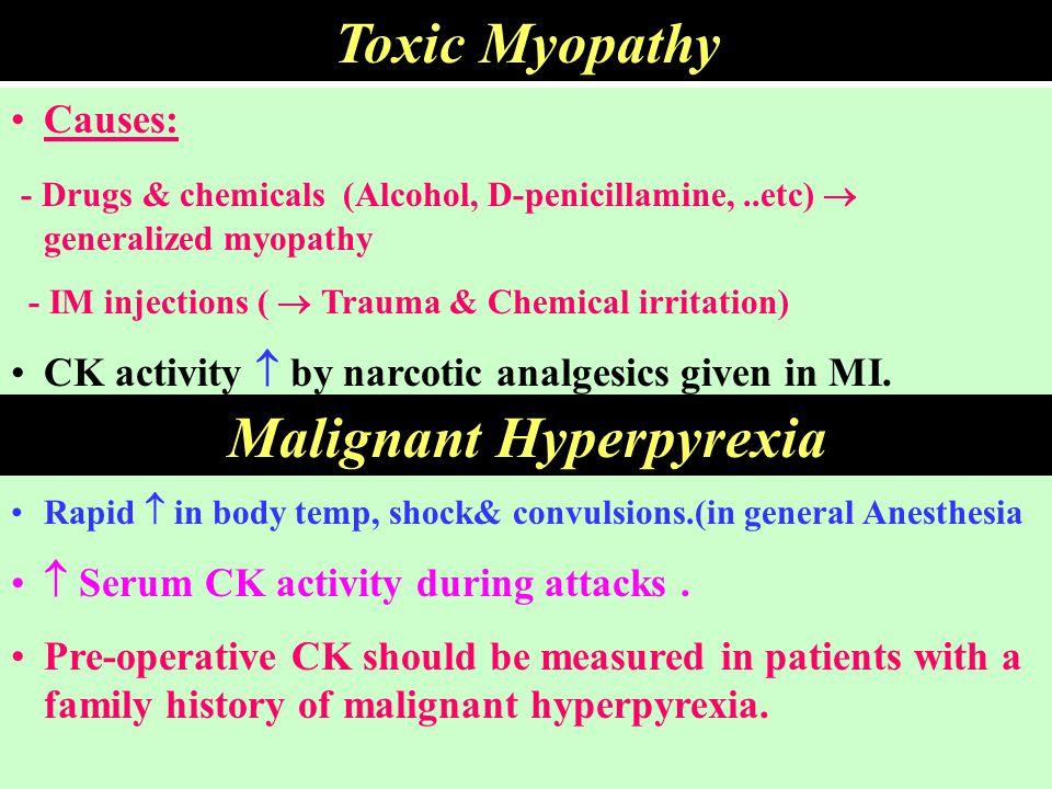 Malignant Hyperpyrexia