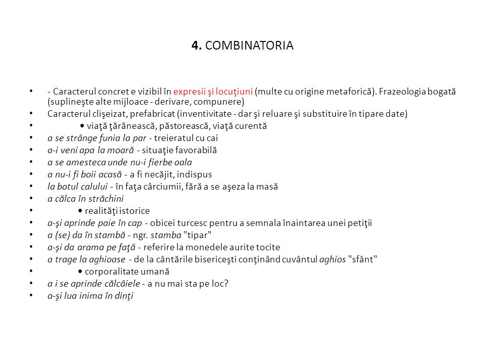 4. COMBINATORIA