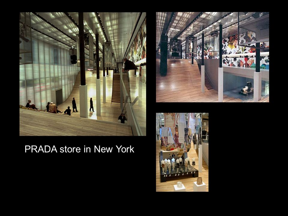 PRADA store in New York
