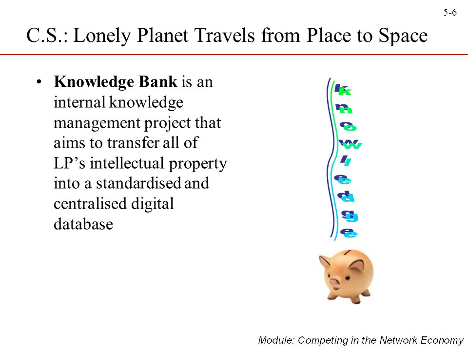 knowledge C.S.: Lonely Planet Travels from Place to Space