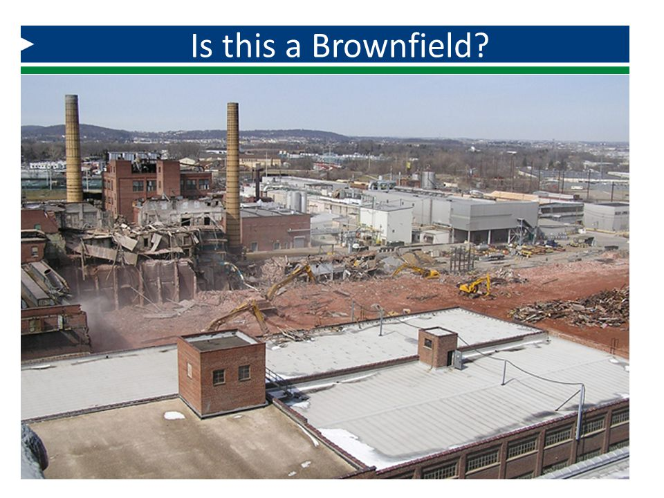 Is this a Brownfield And this….
