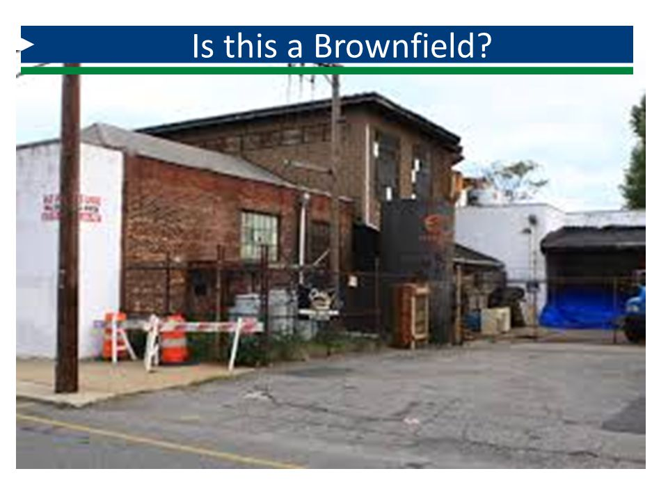 Is this a Brownfield How about an electroplating facility