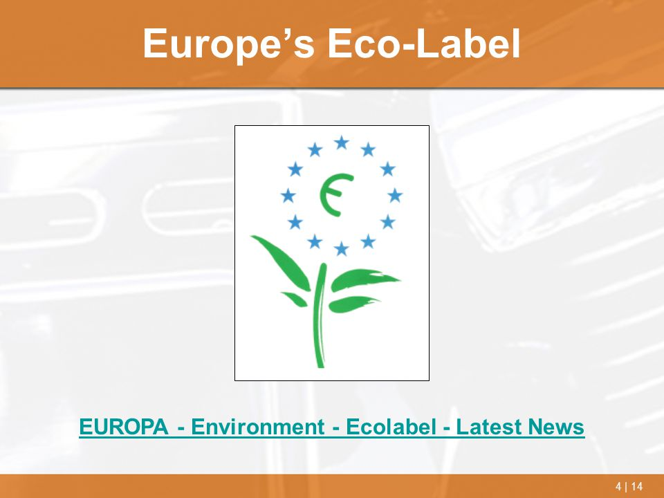 EUROPA - Environment - Ecolabel - Latest News
